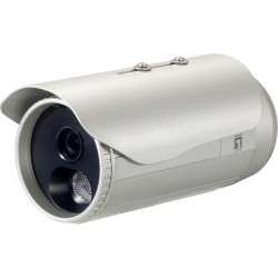 CP Tech / Level One - FCS-5053 - LevelOne H.264 3-Mega Pixel FCS-5053 PoE IP Network Camera w/IR (Day/Night/Outdoor), TAA Compliant - 3-MP, PoE