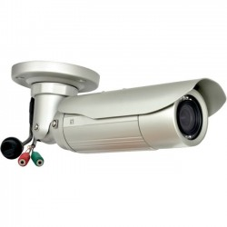 CP Tech / Level One - FCS-5054 - LevelOne H.264 3-Mega Pixel FCS-5054 PoE WDR IP Network Camera w/IR (Day/Night/Outdoor), TAA Compliant - 3-MP, PoE, WDR