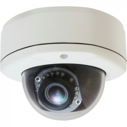 CP Tech / Level One - FCS-3083 - LevelOne H.264 5-Mega Pixel Vandal-Proof FCS-3083 PoE WDR IP Dome Network Camera (Day/Night/Indoor/Outdoor), TAA Compliant - 5-MP, Vandal-Proof, PoE, WDR