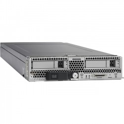 Cisco - UCS-CX-B200M4-VP - Cisco B200 M4 Blade Server - 2 x Intel Xeon E5-2670 v3 Dodeca-core (12 Core) 2.30 GHz - 256 GB Installed DDR4 SDRAM - 2 Processor Support - 768 GB RAM Support - Ethernet