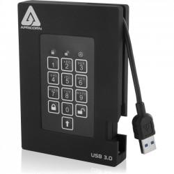 Apricorn - A25-3PL256-2000F - Apricorn Aegis Padlock Fortress 2 TB External Hard Drive - Portable - USB - 5400rpm - 8 MB Buffer