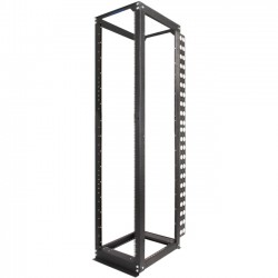 Rack Solution - 111-1730 - Innovation Rack-111 Open Server Rack Frame - 19 50U Wide - Black - 3000 lb x Maximum Weight Capacity