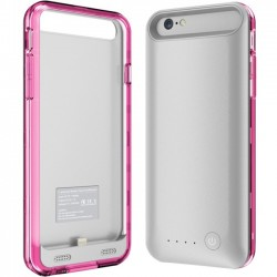 Mota / UNorth - MT-AP6PK - TAMO iPhone 6 2400 mAh Extended Battery Case - Pink - iPhone - Pink, 2400 mAh