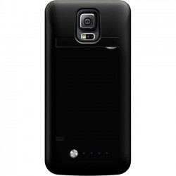 Mota / UNorth - MT-SG5B - TAMO Samsung S5 Premium Extended Battery Case - Smartphone - Black