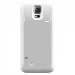 Mota / UNorth - MT-SG5W - TAMO Samsung S5 Premium Extended Battery Case - Smartphone - White