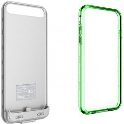 Mota / UNorth - MT-AS6GR - TAMO iPhone 6 Plus 4000 mAh Extended Battery Case - Green - iPhone - Green