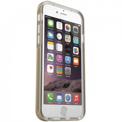 Mota / UNorth - MT-I6LED-GD - TAMO iPhone 6 LED Flashing Case - Gold - iPhone - Gold, Transparent - Sleek Texture
