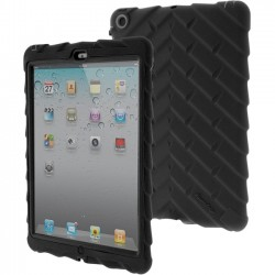 Gumdrop Cases - DT-IPAD5-BLK-V2 - Gumdrop Drop Tech Case for iPad Air - iPad Air - Black - Rubber, Silicone, Polycarbonate