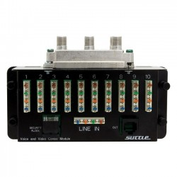 Suttle - SAMVV8 - Suttle 10/8 Voice and 1GHz Video Combination Module