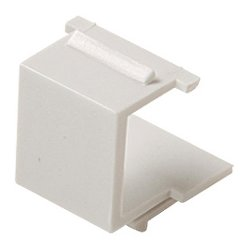 Steren Electronics - 310-420WH-10 - Steren Blank Faceplate Module - White