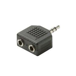 Steren Electronics - 251-130-10 - Steren 3.5mm Stereo Adapter - Plastic