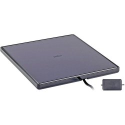 Audiovox - ANT1650R - RCA Superior Flat Antenna with Removable Amplifier - TelevisionFlat Panel - Omni-directional