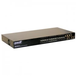 Transition Networks - SM24-100SFP-AH - Transition Networks SM24-100SFP-AH OAM Ethernet Switch - 24 x SFP, 2 x SFP (mini-GBIC) - 2 x 10/100/1000Base-T, 2 x 10/100/1000Base-T