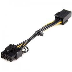 StarTech - PCIEX68ADAP - StarTech.com Power Adapter Cable - PCI Express - 6 Pin - 8 Pin - PCIeStarTech.com Power Adapter Cable - PCI Express - 6 Pin - 8 Pin - PCIe - 6.1