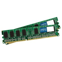 AddOn - AA1333D3N9K2/4G - AddOn JEDEC Standard 4GB (2x2GB) DDR3-1333MHz Unbuffered Dual Rank 1.5V 240-pin CL9 UDIMM - 100% compatible and guaranteed to work