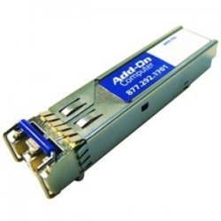 AddOn - JX-SFP-1GE-LX-AO - AddOn Juniper Networks JX-SFP-1GE-LX Compatible TAA Compliant 1000Base-LX SFP Transceiver (SMF, 1310nm, 10km, LC, DOM) - 100% compatible and guaranteed to work