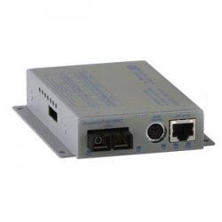 Omnitron - 8903N-1-D - Omnitron Systems iConverter Fast Ethernet Media Converter - 1 x RJ-45 , 1 x SC - 10/100Base-TX, 100Base-FX