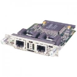 Cisco - VWIC2-2MFT-G703-RF - Cisco 2-Port T1/E1 Voice WAN Interface Card - 2 x T1/E1