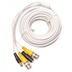 Q-See - QS50B - Q-see QS50B Video Extension Cable with Power - BNC Male - BNC Male - 50ft