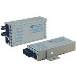 Omnitron - 1233-1-6 - miConverter 10/100/1000 Gigabit Ethernet Single-Fiber Media Converter RJ45 SC Single-Mode BiDi 20km - 1 x 10/100/1000BASE-T; 1 x 1000BASE-BX-D (1490/1310); USB Powered; Lifetime Warranty