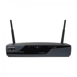 Cisco - CISCO876-SECIK9-RF - Cisco Cisco 876 ADSL over ISDN Security Bundle - 4 x 10/100Base-TX LAN, 1 x ADSLoISDN WAN, 1 x ISDN BRI (S/T)