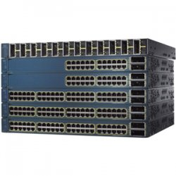 Cisco - WS-C3560E-12SDS-RF - Cisco Catalyst 3560E-12SD Gigabit Ethernet Switch - 12 x SFP (mini-GBIC), 2 x X2