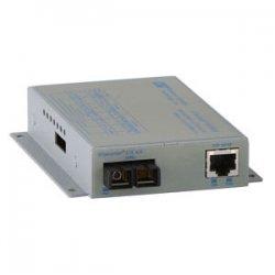Omnitron - 8500N-0 - iConverter 1000Mbps Gigabit Ethernet Fiber Media Converter RJ45 ST Multimode 550m Module - 1 x 1000BASE-T; 1 x 1000BASE-SX; Internal Module; Lifetime Warranty
