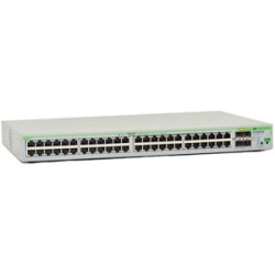 Allied Telesis - AT-9000/52-10 - Allied Telesis AT-9000/52 Gigabit Ethernet Switch - 4 x SFP (mini-GBIC) - 48 x 10/100/1000Base-T