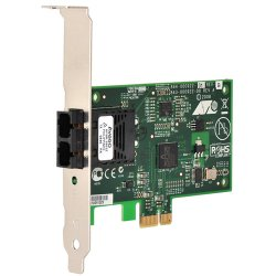 Allied Telesis - AT-2712FX/SC-901 - Allied Telesis AT-2712FX Secure Network Interface Card Trade Agreements Act Compliant - PCI Express x1 - 1 Port(s) - 1 x SC Port(s) - Low-profile