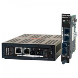 IMC Networks - 856-14044 - IMC iMcV-FiberLinX-II Fast Ethernet Media Converter - 1 x RJ-45 , 1 x SC - 10/100Base-TX, 100Base-FX - Internal