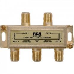 Voxx - DH44SPR - VOXX Electronics DH44SPR Signal Splitter - 2.40 GHz - 5 MHz to 2.40 GHz