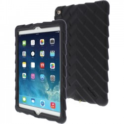Gumdrop Cases - DT-IPADAIR2-BLK-BLK - Gumdrop Drop Tech Case for iPad Air 2 - iPad Air - Black - Rugged Design - Rubberized - Silicone, Polycarbonate, Rubber - 72 Drop Height