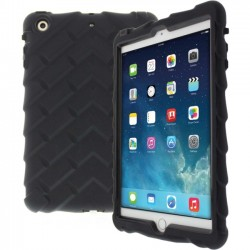 Gumdrop Cases - DT-IPADMINI3-BLK-BLK - Gumdrop Drop Tech Case for iPad Mini 3 - iPad mini 3 - Black - Rugged Design - Rubberized - Silicone, Polycarbonate, Rubber - 72 Drop Height