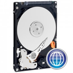 Western Digital - WD1600BEVT - WD Scorpio Blue WD1600BEVT 160 GB 2.5 Hard Drive - SATA - 5400rpm - 8 MB Buffer - Hot Swappable - Plug-in Module