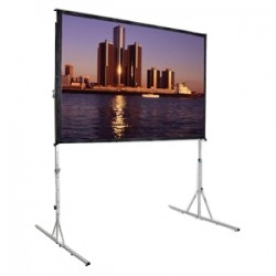 Da-Lite - 39311HD - Da-Lite Fast-Fold Deluxe Projection Screen - 193.4 - 16:9 - 96 x 168 - Da-Tex