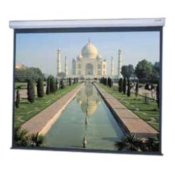 Da-Lite - 20907 - Da-Lite Model C Manual Projection Screen - 123 - 16:10 - Wall Mount, Ceiling Mount - 65 x 104 - Matte White
