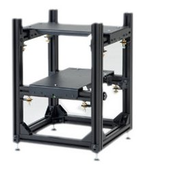 Da-Lite - 21378 - Da-Lite 3D Projector Stacker - 2 x Shelf(ves) - Aluminum, Steel