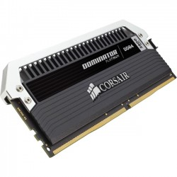 Corsair - CMD32GX4M4A2800C16 - Corsair Dominator Platinum 32GB DDR4 SDRAM Memory Module - 32 GB (4 x 8 GB) - DDR4 SDRAM - 2800 MHz DDR4-2800/PC4-22400 - 1.20 V - 288-pin - DIMM