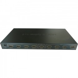 4xem - 4XHDMI84K2K - 4XEM 8 Port HDMI 4K Splitter - 340 MHz to 340 MHz - HDMI In - HDMI Out