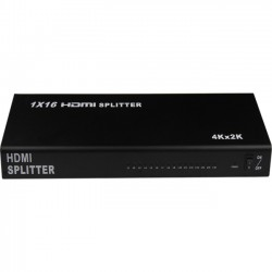 4xem - 4XHDMI164K2K - 4XEM 16 Port HDMI 4K Splitter - 340 MHz to 340 MHz - HDMI In - HDMI Out