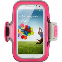 Belkin - F8M558BTC01 - Belkin Slim-Fit Carrying Case (Armband) for Smartphone - Fuchsia - Neoprene - Armband