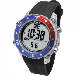 Pyle / Pyle-Pro - PSNKW30BK - Pyle PSNKW30BK Smart Watch - Wrist - Thermometer - Alarm - Black - Sports - Water Resistant