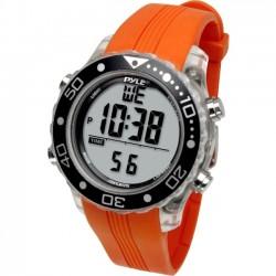 Pyle / Pyle-Pro - PSNKW30O - Pyle PSNKW30O Smart Watch - Wrist - Thermometer - Alarm - Orange - Sports - Water Resistant