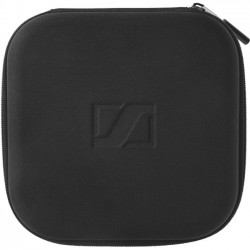 Sennheiser - 506059 - Sennheiser Carrying Case for Headset, Accessories, Cable, Flash Drive - Black - Embossed Sennheiser Logo