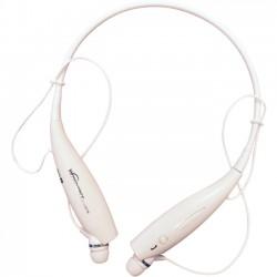 Zeepad - HEADSET -WHITE - MYEPADS Bluetooth Stereo Headset BDS-19 - Stereo - White - Wireless - Bluetooth - 32.8 ft - Earbud, Behind-the-neck - Binaural - In-ear