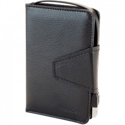 VisionTek - 900762 - Visiontek Portable Hard Drive Case - Wallet - Leather - Black