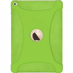 Amzer - AMZ97446 - Amzer Silicone Skin Jelly Case - Green for Apple iPad Air 2 - iPad Air 2 - Green - Textured - Silicone, Jelly