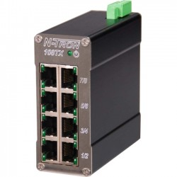 IMC Networks - 108TX - B+B N-TRON 108TX Ethernet Switch - 8 Network - Twisted Pair - 2 Layer Supported - Rail-mountable