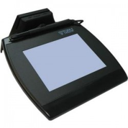 Topaz Systems - TM-LBK766SE-HSB-R - Topaz SignatureGem LCD 4x5 with MSR - Backlit LCD - Active Pen - 4.60 x 3.40 Active Area LCD - Backlight - USB
