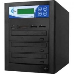 EZ Dupe - MM03PIB - Media Mirror Multi-format 3copy Dvd/cd/sd/cf/ms/mmc/usb Duplicator